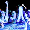 SAC hosted Glow Paint Party during homecoming