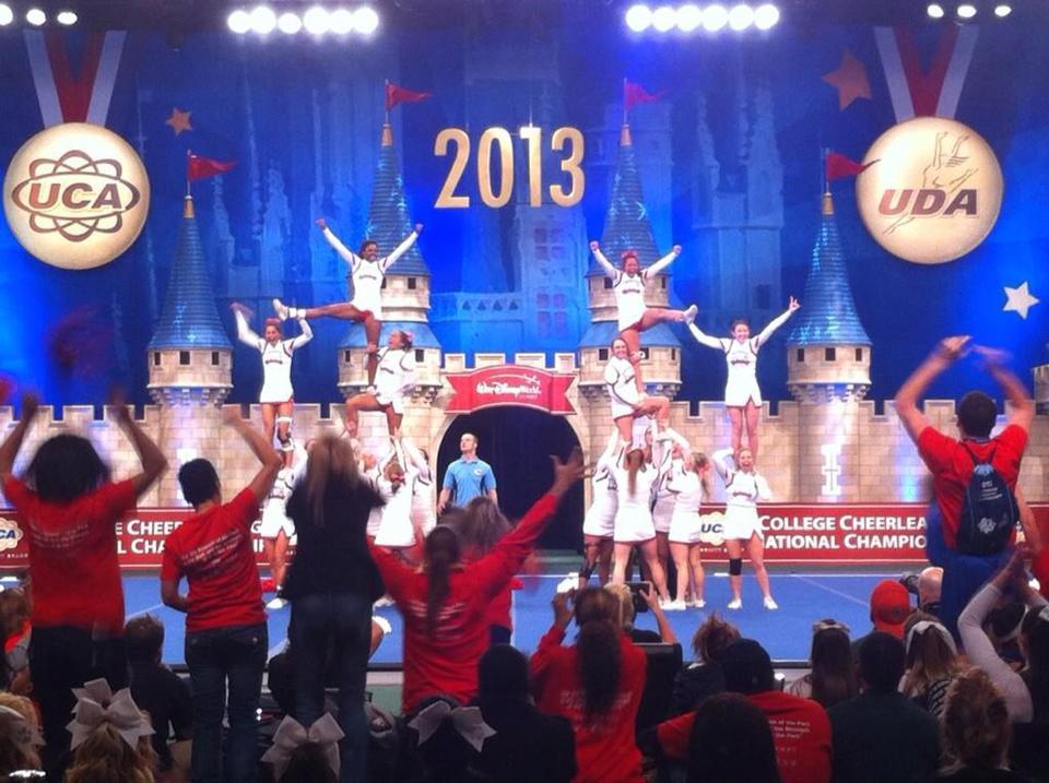 Three-Peat for UWG Cheerleading