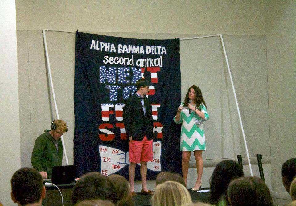 Alpha Gamma Delta's Next Top Frat Star Pageant to Support Diabetes Research
