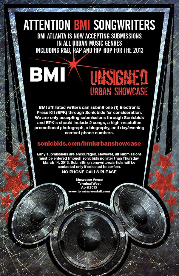BMI to Host 15th Annual Unsigned Urban Artist Showcase in Atlanta