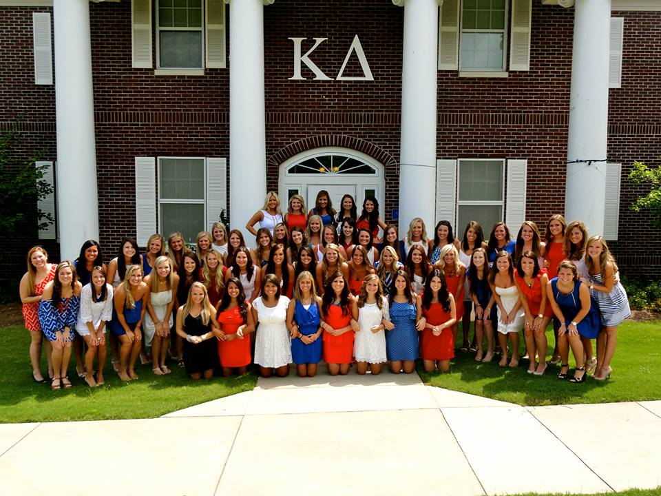 Kappa Delta Enters to Win House Makeover