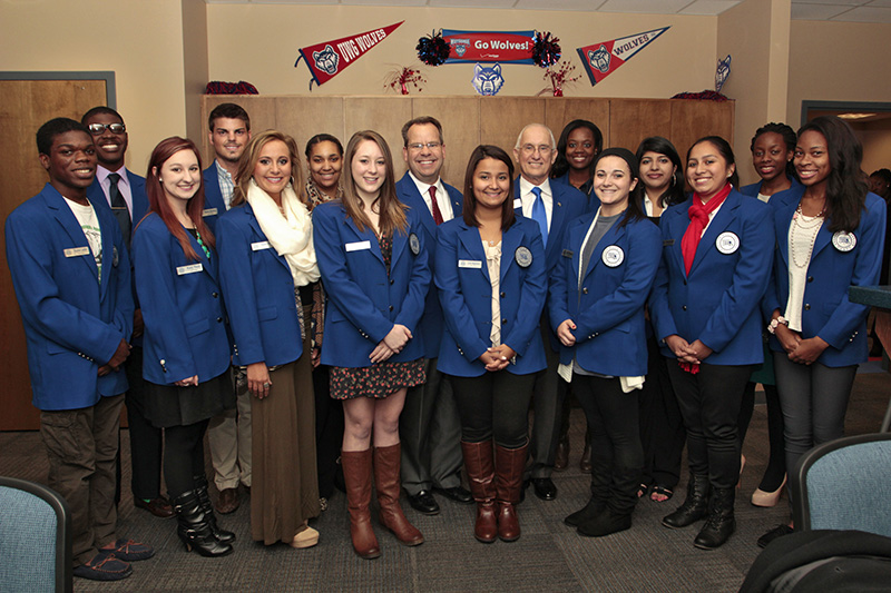 UWG Inducts 14 Members Into Blue Coats Organization