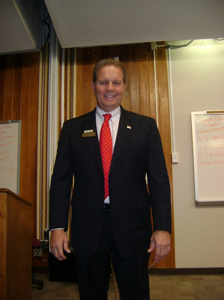 Congressional Candidate for Georgia's Third District Visits UWG