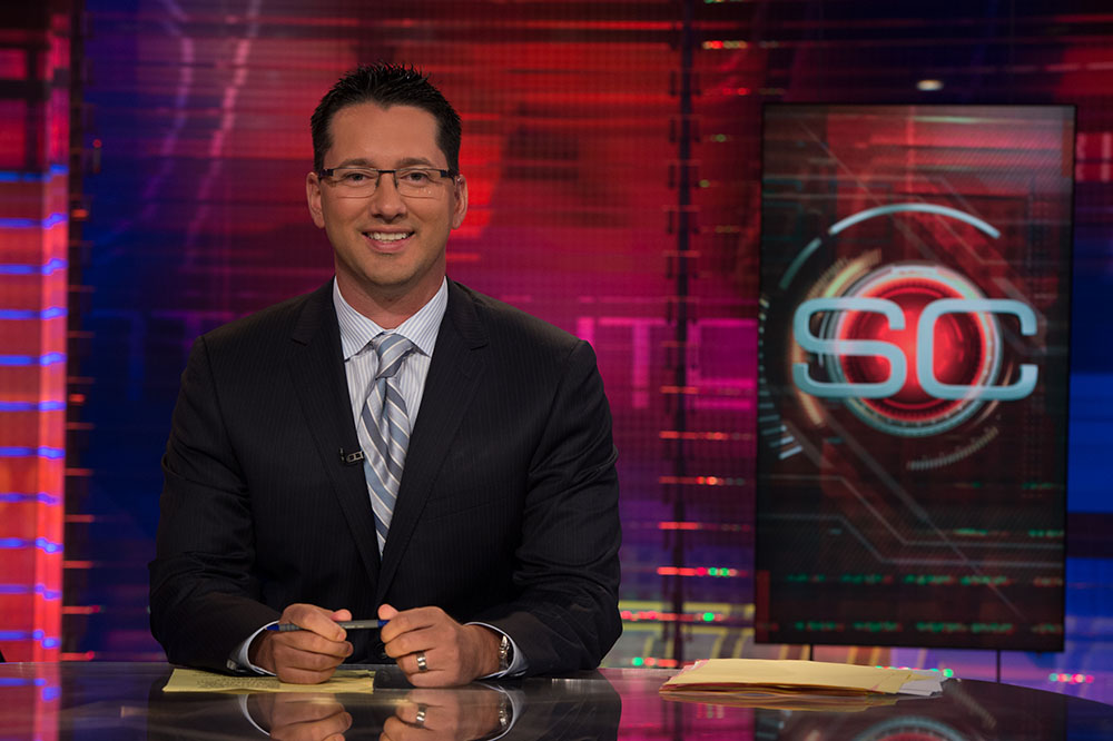 UWG Alumnus Aims High, Lands Dream Job with ESPN