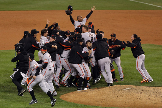 San Francisco Giants Win Third World Series in Five Years