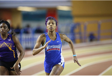 Stay humble, stay hungry: UWG freshman track star breaking records