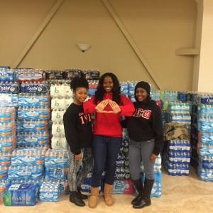 Photo Credit: Stephanie Hernandez (The Happy Feminist), Kiarra Thompson (Women of Diversity), Tailor Payton (Delta Sigma Theta), Tia Tuggle (College Girls Rock), Tiffany Lee (Lambda Theta Alpha)