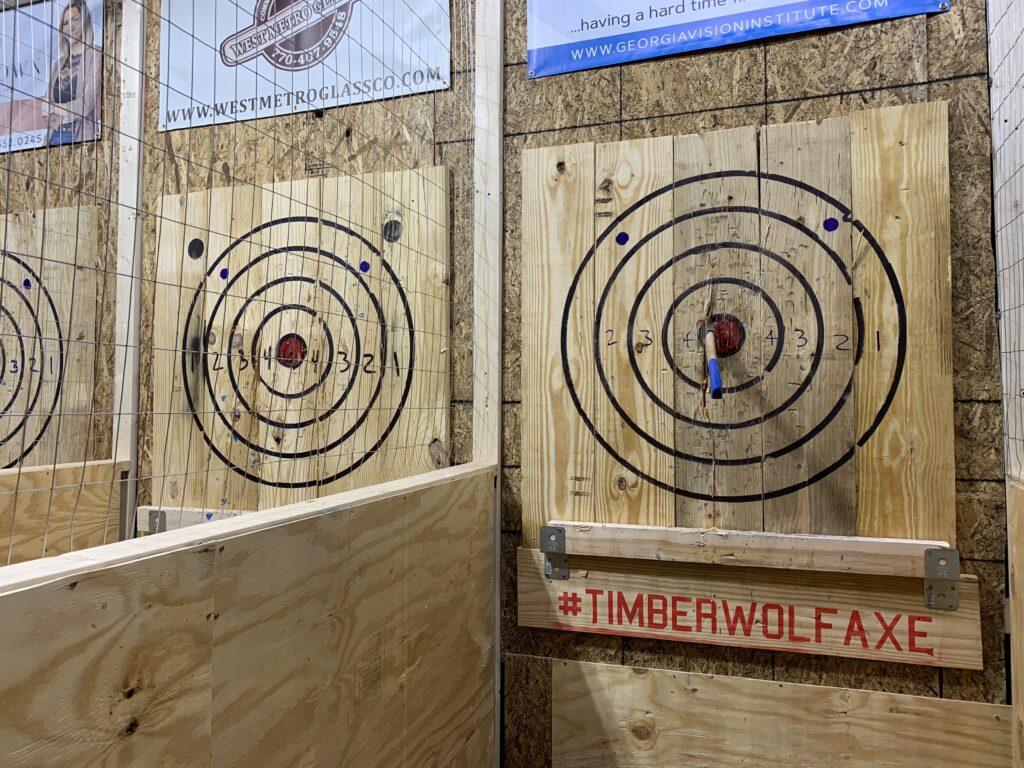 Timberwolf Axe Throwing Opens in Carrollton