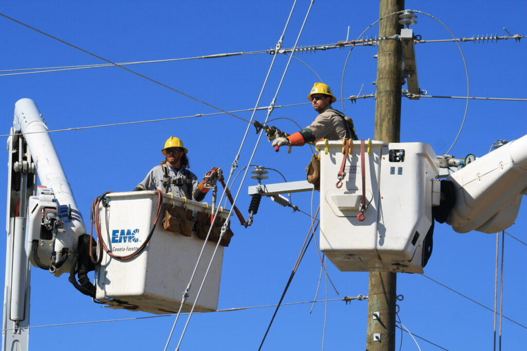 Electric Cooperative Responds to Storm Damage