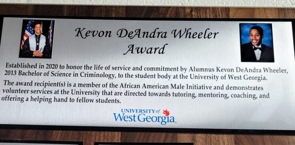 AAMI Scholarship Created in Remembrance of UWG Alumnus