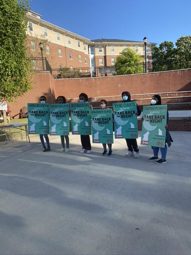 UWG Takes Back the Night to March for Sexual Assault Awareness
