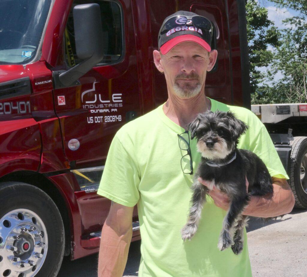 Local Carrollton Semi-Truck Driver Named Highway Angel