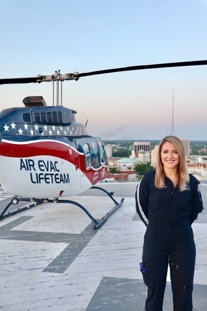 One UWG Nursing Alumnus' Journey into Flight Nursing