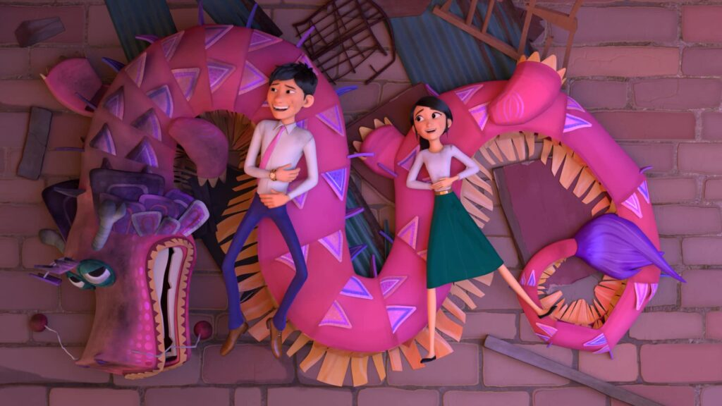 Wish Dragon: A fun Jackie Chan retelling of Aladdin