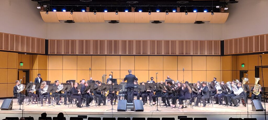UWG Wind Ensemble Performs Their First Concert of Fall 2021